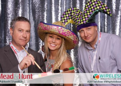Corporate Event Silver Background